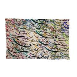 کاغذ کادو ترمه طراحان ایده مدل  مهر عالم آرا کد 0153 بسته 10 عددی