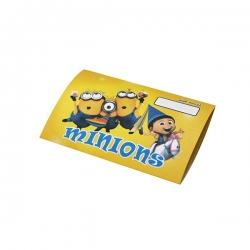 کارت دعوت مدل مینیون بسته 10 عددی