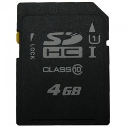 کارت حافظه SD مدل Pack1 کلاس 10 استاندارد UHS-I U3 سرعت 100MBps ظرفیت 4 گیگابایت
