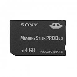 کارت حافظه Stick PRO DUO سونی مدل MG کلاس 2 استاندارد HG سرعت 60MBps ظرفیت 4 گیگابایت