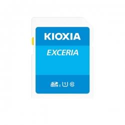 کارت حافظه کیوکسیا مدل EXCERIA کلاس 10 استاندارد UHS-1 سرعت 100MBps ظرفیت 256 گیگابایت