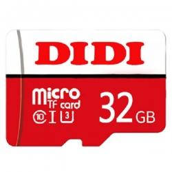 کارت حافظه microSDHC دی دی مدل + DR7 کلاس 10 استاندارد UHS-I U3 سرعت 80MBps ظرفیت 32 گیگابایت