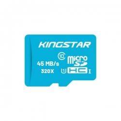 کارت حافظه microSDHC کینگ استار مدل Bulk کلاس 10 استاندارد U1 سرعت 45MBps ظرفیت 16 گیگابایت