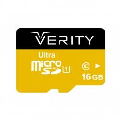 کارت حافظه microSDHC وریتی کلاس 10 استاندارد UHS-I U1 سرعت 95MBps ظرفیت 16 گیگابایت به همراه آداپتور SD