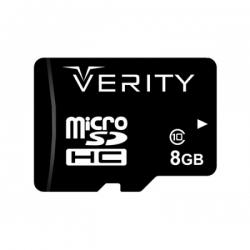 کارت حافظه microSDHC وریتی کلاس 10 مدل ultra همراه با آداپتور SD ظرفیت 8 گیگابایت