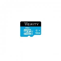 کارت حافظه microSDHC وریتی مدل 433X کلاس 10 استاندارد UHS-I U1 سرعت 65MBps ظرفیت 16 گیگابایت