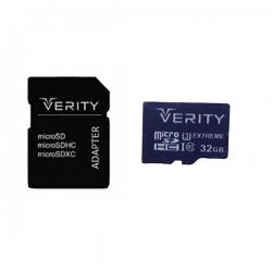 کارت حافظه microSDHC وریتی مدل 533X کلاس 10 استاندارد UHS-I U1 سرعت 80MBps ظرفیت 32 گیگابایت به همراه آداپتور SD