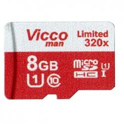 کارت حافظه microSDHC ویکو من مدل Final 320x کلاس 10 استاندارد UHS-I U3 سرعت 48MBps ظرفیت 8 گیگابایت