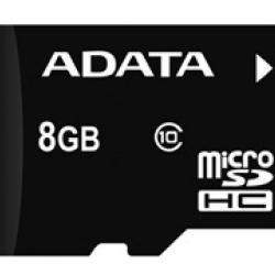 کارت حافظه میکرو اس دی ای دیتا 8 گیگابایت کلاس 10