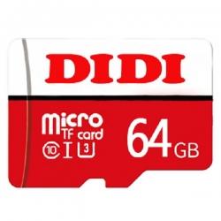 کارت حافظه microSDXC دی دی مدل +DR5 کلاس 10 استاندارد UHS-I U3 سرعت 80MBps ظرفیت 64 گیگابایت