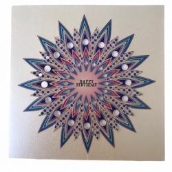 کارت پستال بلومز مدل خورشید تولدت مبارک