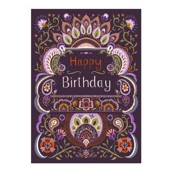 کارت پستال کاف پستال طرح تبریک تولد کد Kaf_1014