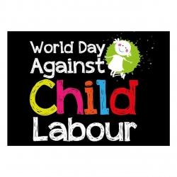 کارت پستال ماهتاب طرح روز مبارزه با کار کودکان کد 2418