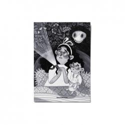 کارت پستال ماسا دیزاین طرح دختر کد postv68