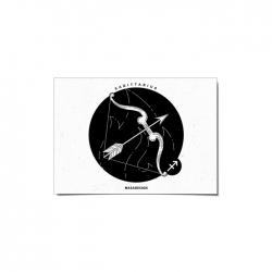 کارت پستال ماسا دیزاین طرح ماه تولد آذر کد postv134