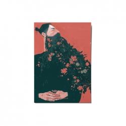کارت پستال ماسا دیزاین طرح مرد ریشو کد postv150
