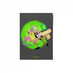 کارت پستال ماسا دیزاین طرح ریک اند مورتی کد postv62