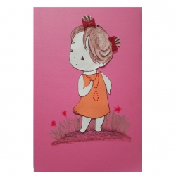 کارت پستال مدل  دختر کد 03