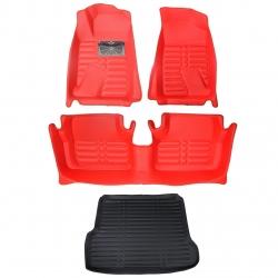 کفپوش سه بعدی خودرو  کد 39 مناسب برای پژو پارس به همراه کفپوش صندوق