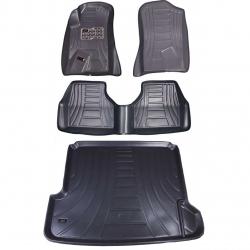 کفپوش سه بعدی خودرو مدل اکو مناسب برای سمند به همراه کفپوش صندوق