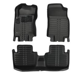 کفپوش سه بعدی خودرو تری دی مکس اچ اف کی مدل HS1120213 مناسب برای رنو کولئوس