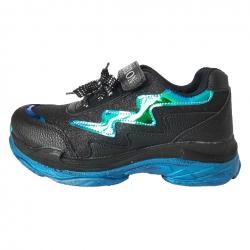 کفش پیاده روی دخترانه مدل موجی رنگ مشکی