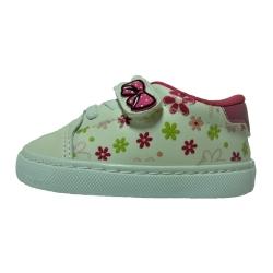 کفش راحتی دخترانه مدل گل 94