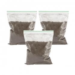 خاک معطر زیر سیگاری مدل قهوه وزن 100گرم بسته 3 عددی