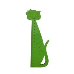 خط کش 15سانتی متر طرح گربه