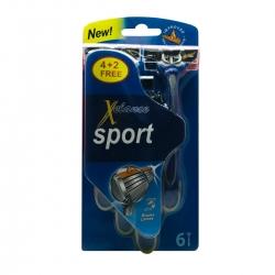خودتراش زلانس مدل Blue3 Sport بسته 6 عددی