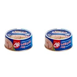 کنسرو ماهی تن در روغن خوش طعم – 180 گرم بسته 2 عددی