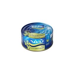 کنسرو ماهی تون با زیتون در روغن زیتون تحفه – 180 گرم