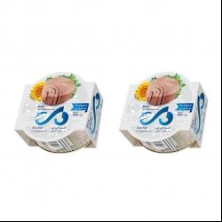 کنسرو ماهی تون در روغن دی – 180 گرم بسته 2 عددی