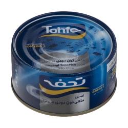 کنسرو ماهی تون دودی در روغن تحفه – 180 گرم