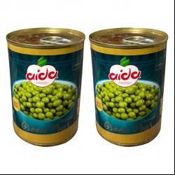 کنسرو نخود سبز آیدا -380 گرم بسته دو عددی