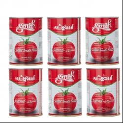 کنسرو رب گوجه فرنگی اسمیف – 400 گرم بسته 6 عددی