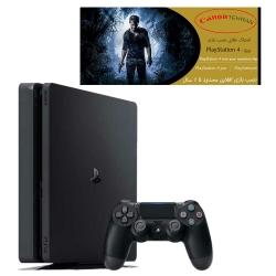 کنسول بازی سونی مدل Playstation 4 Slim ریجن 2 کد CUH-2218B ظرفیت 1 ترابایت به همراه 20 بازی