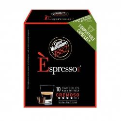 کپسول قهوه کرموسو ورنیانو کافه بسته 10 عددی
