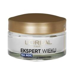 کرم ضد چروک شب لورآل مدل Ekspert Wieku +50 حجم 50 میلی لیتر
