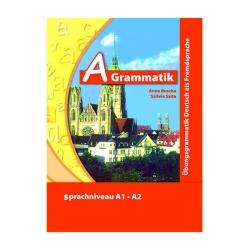 کتاب A Grammatik اثر Anne Buscha and Szilvia Szita نشر ابداع