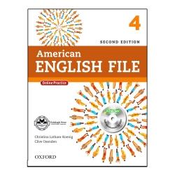کتاب American English File 4 اثر Christina latham-Koeing And Clive Oxeden انتشارات اشتیاق نور