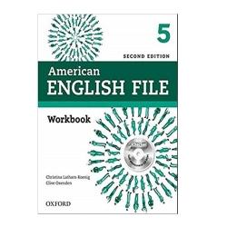 کتاب American English File 5 2nd اثر جمعی از نویسندگان انتشارات آکسفورد