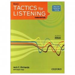 کتاب Basic Tactics For Listening اثر Jack C.Richards and Grant Trew انتشارات زبان مهر