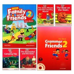 کتاب Family and Friends 2 اثر جمعی از نویسندگان انتشارات الوندپویان شش جلدی