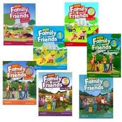 کتاب Family and Friends Second Edition اثر Tamzin Thompson انتشارات آکسفورد 7 جلدی