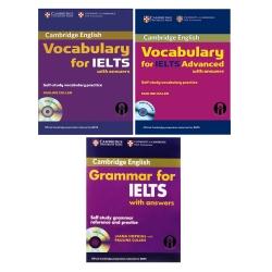 کتاب Grammar And Vocabulary For IELTS اثر Diana Hopkins And Pauline Cullen انتشارات الوندپویان سه جلدی