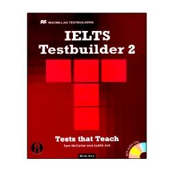 کتاب IELTS Test Builder 2 اثر Sam McCarter And Judith Ash انتشارات الوندپویان