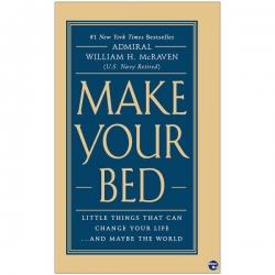 کتاب Make your bed اثر William H. McRaven نشر ابداع