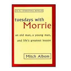 کتاب Tuesdays with Morrie اثر Mitch Albom انتشارات هدف نوین