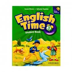 کتاب english time 3 اثر Setsuko Toyama انتشارات oxford